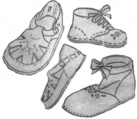 Baby-Mary-Jane-Shoe-Bootie-Sewing-Pattern-0-12-Months- | eBay