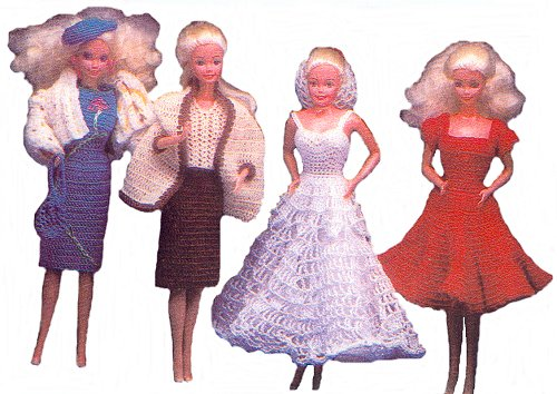FREE CROCHET BARBIE AND KEN PATTERNS - Crochet and Knitting Patterns