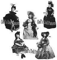 Godey Doll & Clothes 3