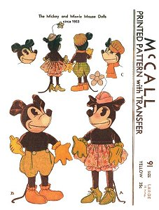 1933 Mickey and Minnie