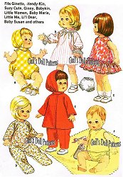 Small Doll Clothes
