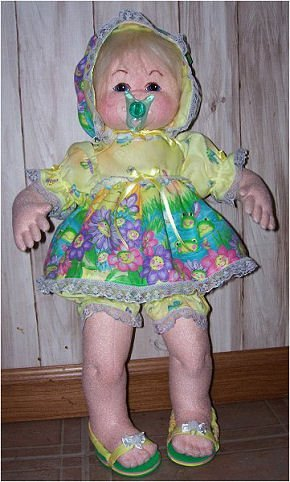 Pacifier Doll - Online Cloth Doll Class